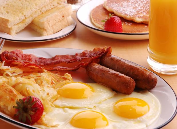 Завтрак в отеле Арт11
